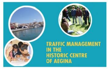 Traffic managment in the historic centre of Egine